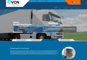 Evon Logistics Website